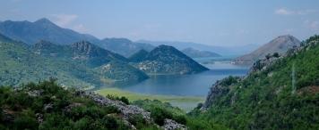 Черногория. Скадарское озеро.