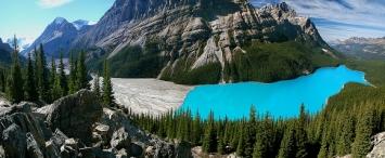 Канада. Озеро Пейто
